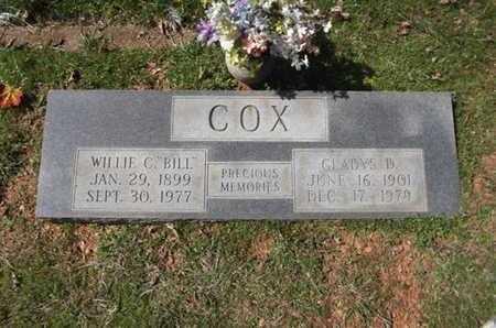 ROMINE COX, GLADYS DELCENIA - Sevier County, Arkansas   GLADYS DELCENIA ROMINE COX - Arkansas Gravestone Photos