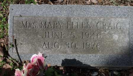 CRAIG, MARY ELLEN, MRS - Sevier County, Arkansas | MARY ELLEN, MRS CRAIG - Arkansas Gravestone Photos