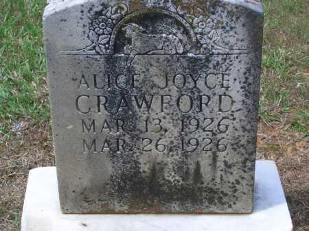 CRAWFORD, ALICE JOYCE - Sevier County, Arkansas | ALICE JOYCE CRAWFORD - Arkansas Gravestone Photos