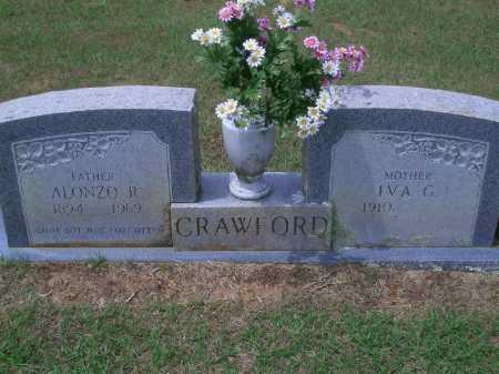 CRAWFORD, ALONZO R. - Sevier County, Arkansas | ALONZO R. CRAWFORD - Arkansas Gravestone Photos