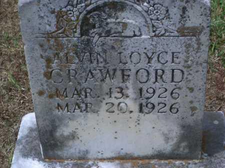 CRAWFORD, ALVIN LOYCE - Sevier County, Arkansas | ALVIN LOYCE CRAWFORD - Arkansas Gravestone Photos