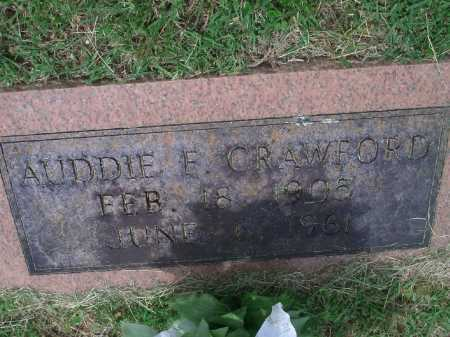 CRAWFORD, AUDDIE F. - Sevier County, Arkansas | AUDDIE F. CRAWFORD - Arkansas Gravestone Photos