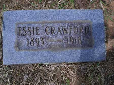 CRAWFORD, ESSIE - Sevier County, Arkansas | ESSIE CRAWFORD - Arkansas Gravestone Photos