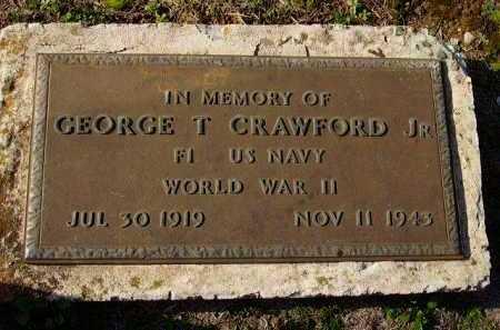 CRAWFORD, JR (VETERAN WWII, KI, GEORGE T - Sevier County, Arkansas | GEORGE T CRAWFORD, JR (VETERAN WWII, KI - Arkansas Gravestone Photos