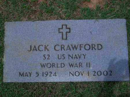 CRAWFORD (VETERAN WWII), JACK - Sevier County, Arkansas | JACK CRAWFORD (VETERAN WWII) - Arkansas Gravestone Photos
