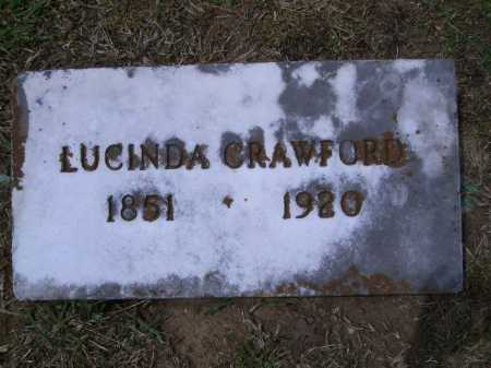 TAYLOR CRAWFORD, LUCINDA A. - Sevier County, Arkansas   LUCINDA A. TAYLOR CRAWFORD - Arkansas Gravestone Photos