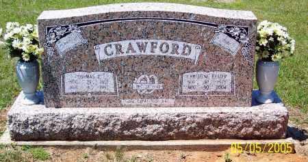 CRAWFORD, THOMAS J. - Sevier County, Arkansas | THOMAS J. CRAWFORD - Arkansas Gravestone Photos