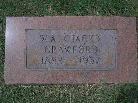 "CRAWFORD, W. A. ""JACK"" - Sevier County, Arkansas | W. A. ""JACK"" CRAWFORD - Arkansas Gravestone Photos"