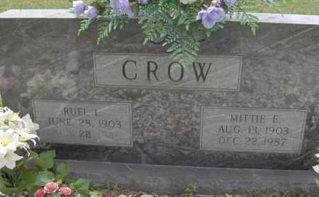 CROW, RUEL L - Sevier County, Arkansas | RUEL L CROW - Arkansas Gravestone Photos