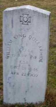 DOLLARHIDE  (VETERAN CSA), WILLIAM KING - Sevier County, Arkansas | WILLIAM KING DOLLARHIDE  (VETERAN CSA) - Arkansas Gravestone Photos