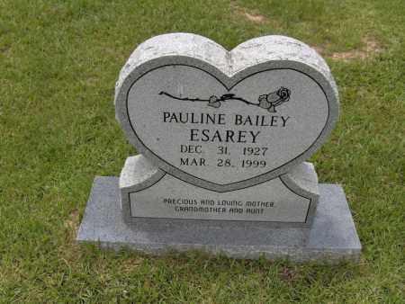 BAILEY ESAREY, PAULINE - Sevier County, Arkansas | PAULINE BAILEY ESAREY - Arkansas Gravestone Photos