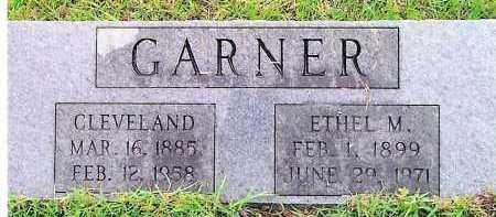 PLUNK GARNER, ETHEL M - Sevier County, Arkansas   ETHEL M PLUNK GARNER - Arkansas Gravestone Photos