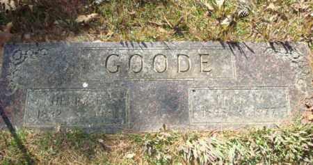 GOODE, LILLIE MAE - Sevier County, Arkansas   LILLIE MAE GOODE - Arkansas Gravestone Photos