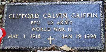 GRIFFIN (VETERAN WWII), CLIFFORD CALVIN - Sevier County, Arkansas | CLIFFORD CALVIN GRIFFIN (VETERAN WWII) - Arkansas Gravestone Photos