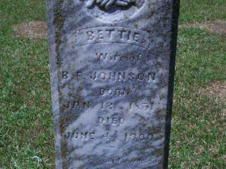 JOHNSON, BETTIE - Sevier County, Arkansas | BETTIE JOHNSON - Arkansas Gravestone Photos