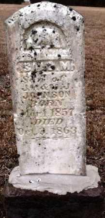 JOHNSON, ISAAC M - Sevier County, Arkansas | ISAAC M JOHNSON - Arkansas Gravestone Photos