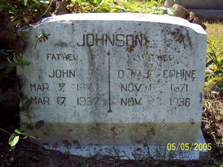 JOHNSON, JOHN - Sevier County, Arkansas | JOHN JOHNSON - Arkansas Gravestone Photos