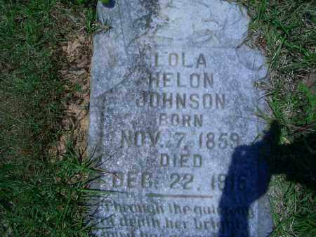JOHNSON, LOLA HELON - Sevier County, Arkansas | LOLA HELON JOHNSON - Arkansas Gravestone Photos