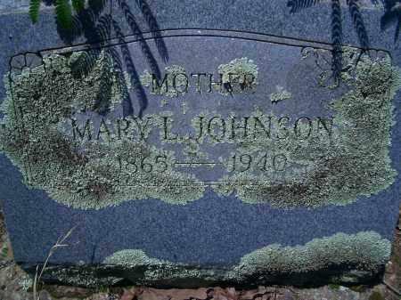 JOHNSON, MARY L - Sevier County, Arkansas | MARY L JOHNSON - Arkansas Gravestone Photos