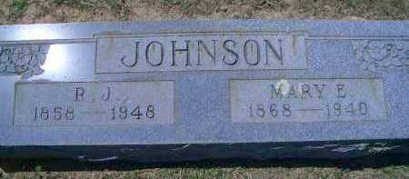 JOHNSON, R J - Sevier County, Arkansas | R J JOHNSON - Arkansas Gravestone Photos