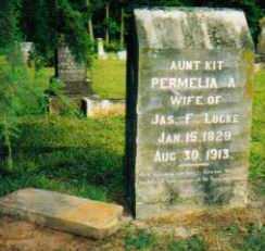 MILLER LOCKE, PERMELIA - Sevier County, Arkansas | PERMELIA MILLER LOCKE - Arkansas Gravestone Photos