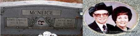 MCNEICE, ANNIE MAE - Sevier County, Arkansas | ANNIE MAE MCNEICE - Arkansas Gravestone Photos