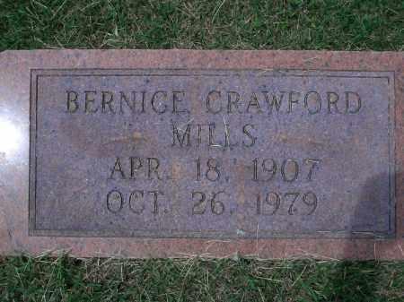 MILLS, BERNICE - Sevier County, Arkansas | BERNICE MILLS - Arkansas Gravestone Photos