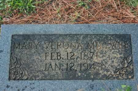MILLWEE, MARY VERONA - Sevier County, Arkansas | MARY VERONA MILLWEE - Arkansas Gravestone Photos
