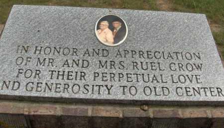 *OLD CENTER MEMORIAM,  - Sevier County, Arkansas |  *OLD CENTER MEMORIAM - Arkansas Gravestone Photos