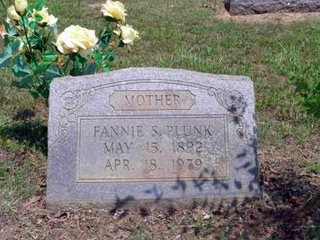 SMITH PLUNK, FANNIE LEE - Sevier County, Arkansas | FANNIE LEE SMITH PLUNK - Arkansas Gravestone Photos