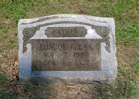 PLUNK, ROSCOE C - Sevier County, Arkansas | ROSCOE C PLUNK - Arkansas Gravestone Photos