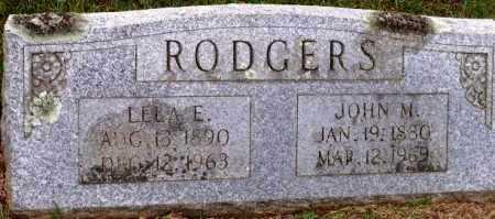 RODGERS, LELA E - Sevier County, Arkansas   LELA E RODGERS - Arkansas Gravestone Photos