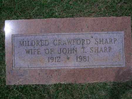 SHARP, MILDRED - Sevier County, Arkansas | MILDRED SHARP - Arkansas Gravestone Photos