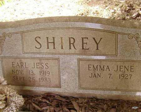 SHIREY, EMME JENE - Sevier County, Arkansas   EMME JENE SHIREY - Arkansas Gravestone Photos