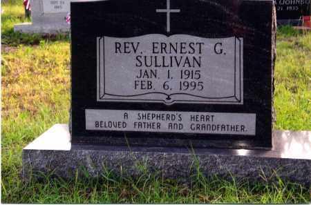 SULLIVAN, REV, ERNEST G. - Sharp County, Arkansas | ERNEST G. SULLIVAN, REV - Arkansas Gravestone Photos