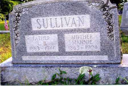 BACON SULLIVAN, MARY MANNIE - Sharp County, Arkansas | MARY MANNIE BACON SULLIVAN - Arkansas Gravestone Photos