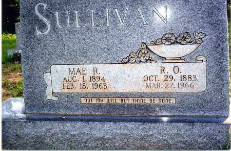 "SULLIVAN, ROSCOE OWEN ""R.O."" - Sharp County, Arkansas 