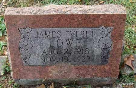 LOWE, JAMES EVERET - Sharp County, Arkansas | JAMES EVERET LOWE - Arkansas Gravestone Photos