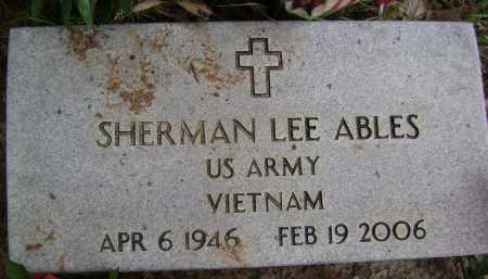ABLES (VETERAN VIET), SHERMAN LEE - Sharp County, Arkansas | SHERMAN LEE ABLES (VETERAN VIET) - Arkansas Gravestone Photos