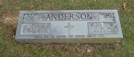 ANDERSON, RACHEL M - Sharp County, Arkansas | RACHEL M ANDERSON - Arkansas Gravestone Photos