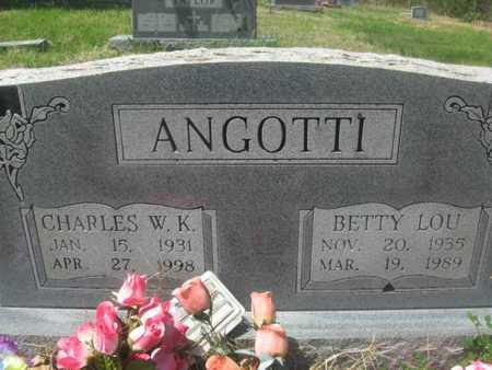 ANGOTTI, BETTY LOU - Sharp County, Arkansas | BETTY LOU ANGOTTI - Arkansas Gravestone Photos