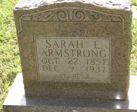 ARMSTRONG, SARAH E. - Sharp County, Arkansas | SARAH E. ARMSTRONG - Arkansas Gravestone Photos