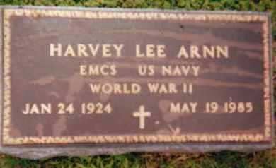 ARNN (VETERAN WWII), HARVEY LEE - Sharp County, Arkansas | HARVEY LEE ARNN (VETERAN WWII) - Arkansas Gravestone Photos