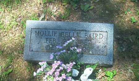 BAIRD, MOLLIE BELLE - Sharp County, Arkansas   MOLLIE BELLE BAIRD - Arkansas Gravestone Photos