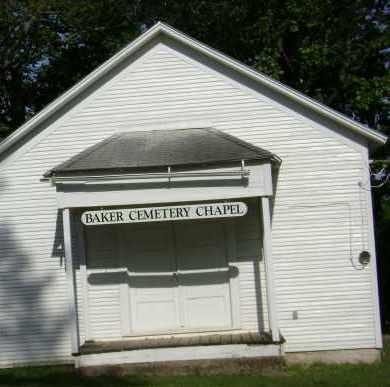 * BAKER CEMETERY, CHAPEL - Sharp County, Arkansas | CHAPEL * BAKER CEMETERY - Arkansas Gravestone Photos