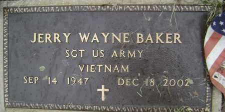 BAKER (VETERAN VIET), JERRY WAYNE - Sharp County, Arkansas | JERRY WAYNE BAKER (VETERAN VIET) - Arkansas Gravestone Photos