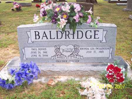 BALDRIDGE, PAUL DENNIS - Sharp County, Arkansas | PAUL DENNIS BALDRIDGE - Arkansas Gravestone Photos