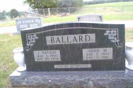 BALLARD, JOHN BATSON - Sharp County, Arkansas | JOHN BATSON BALLARD - Arkansas Gravestone Photos