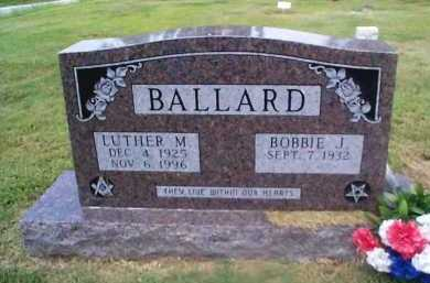 BALLARD, BOBBIE J. - Sharp County, Arkansas | BOBBIE J. BALLARD - Arkansas Gravestone Photos