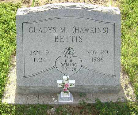 HAWKINS BETTIS, GLADYS M. - Sharp County, Arkansas | GLADYS M. HAWKINS BETTIS - Arkansas Gravestone Photos